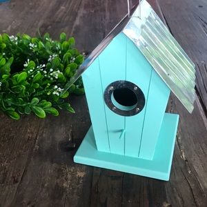 TIFFANY blue birdhouse 🐦